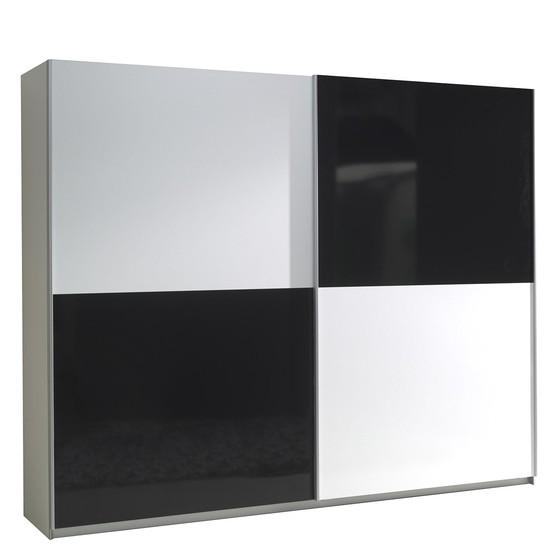 Velká šatní skříň s posuvnými dveřmi Toni 4