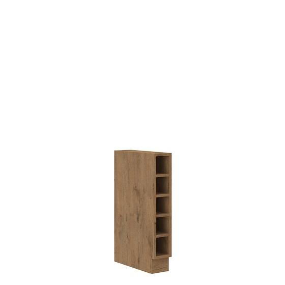 Spodní kuchyňská skříňka s policemi Woodline 15 D OTW BB