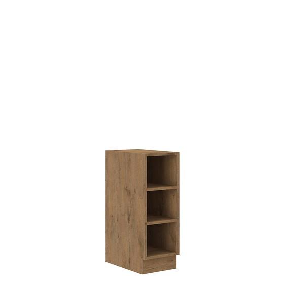 Spodní kuchyňská skříňka s policemi Woodline 30 D OTW BB