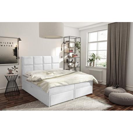 Kontinentální postel Hudson Lux 2