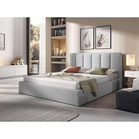 Čalounená postel s roštem Werbena
