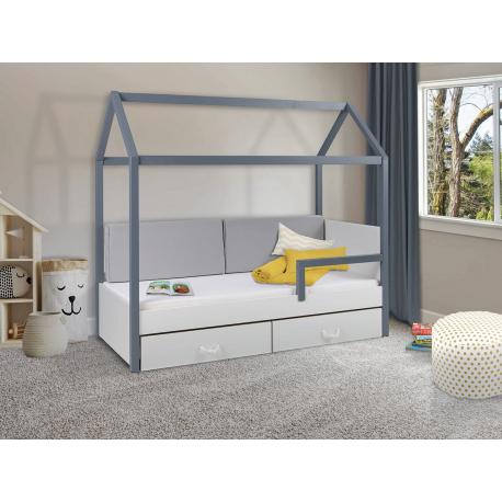 Dětská postel s madlem Fitonia II 80