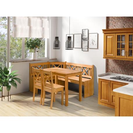 Kuchyňský kout + stolek Santiago se židlemi