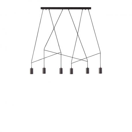 Závěsné stropní svítidlo Imbria černé VI 9675