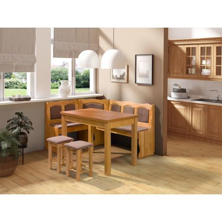 Kuchyňský kout + stůl se židlemi Soter