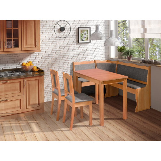 Kuchyňský kout + stůl se židlemi Mexic III