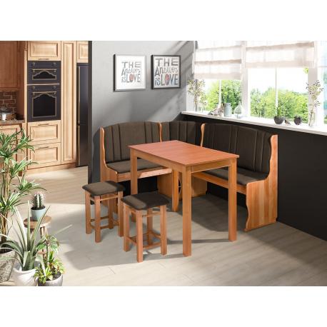 Kuchyňský kout + stůl se židlemi Soter II