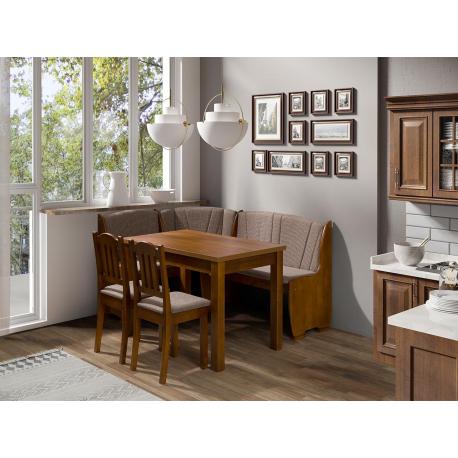Kuchyňský kout + stůl se židlemi Platon