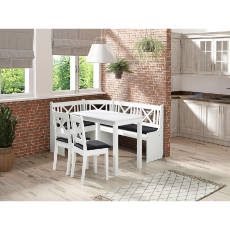 Kuchyňský kout + stůl se židlemi Santiago 1