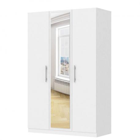 Šatní skříň se zrcadlem Lucas 3D