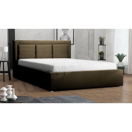 Čalouněná postel s rolovatelným roštem Koay