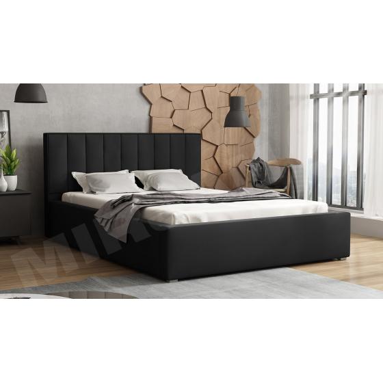 Čalouněná postel Sonden s roštem