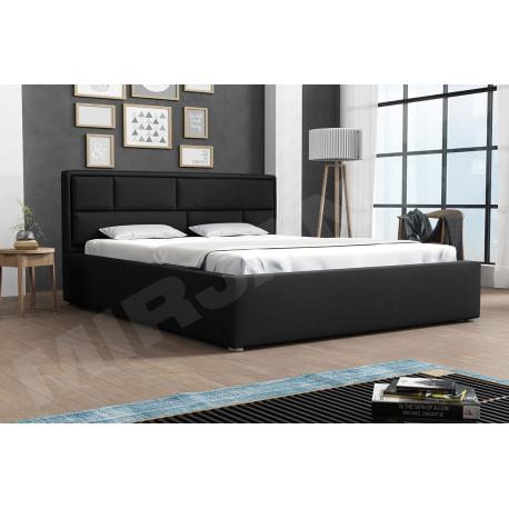 Čalouněná postel s rolovatelným roštem Nido