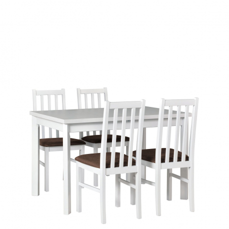 Rozkládací stůl se 4 židlemi - AL24