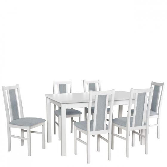 Rozkládací stůl se 6 židlemi - AL20