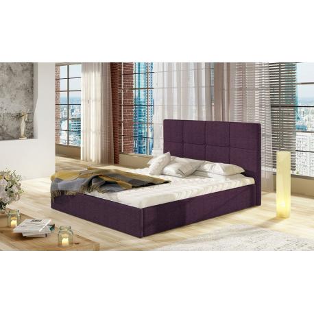 Čalouněná postel s úložným prostorem Atenso Duo