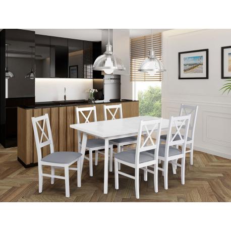 Stůl se 6 židlemi - AL43