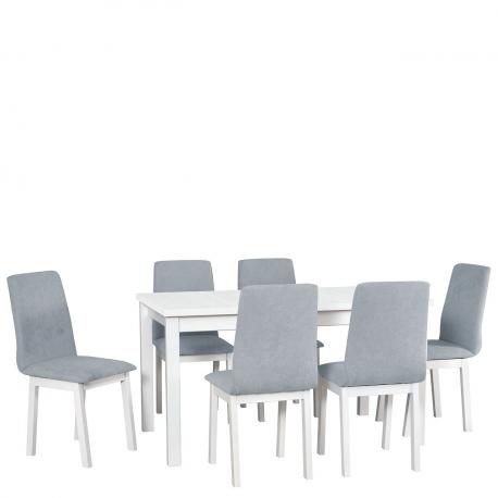 Rozkládací stůl se 6 židlemi - AL37