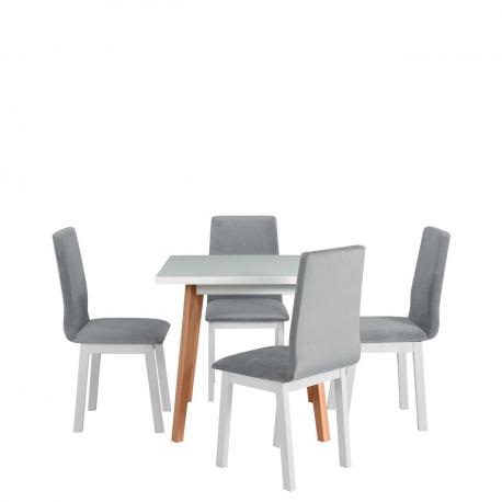 Rozkládací stůl se 4 židlemi - AL40