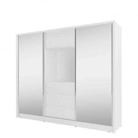 Posuvná skříň se zrcadlem Eduardo 250