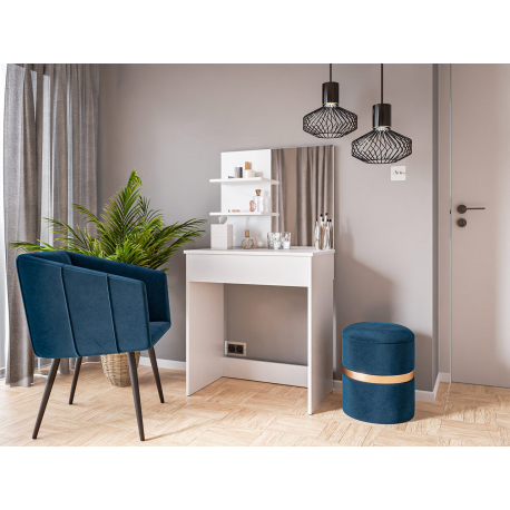 Moderní psací stůl a toaletní stolek Luka