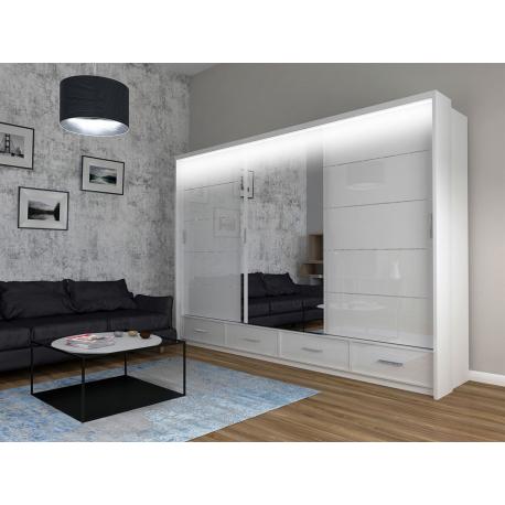 Posuvná skříň s osvětlením Oleniok 250