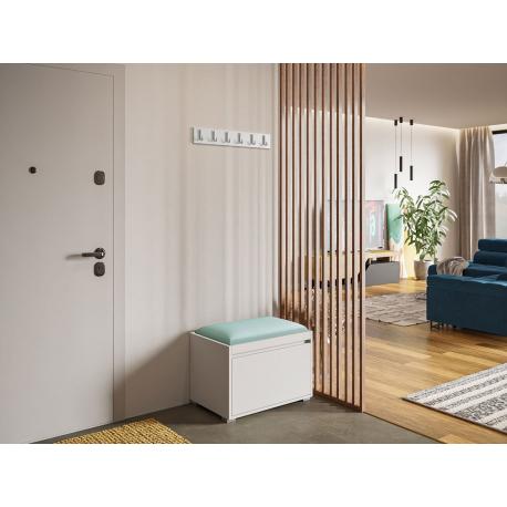 Nábytek do předsíně Konkor 60 + čalouněný nástěnný panel Pag 60x30