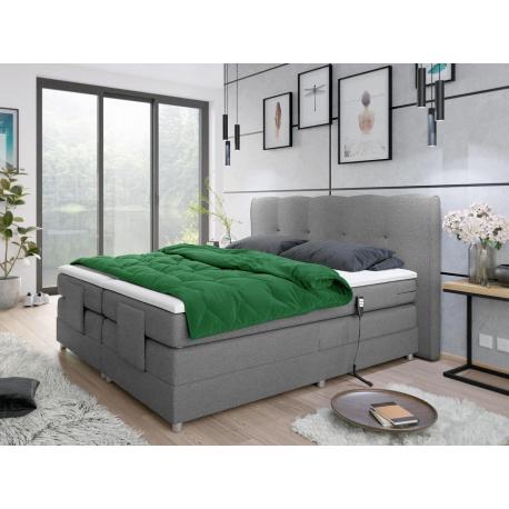 Dvoulůžková polohovatelná postel Fawila