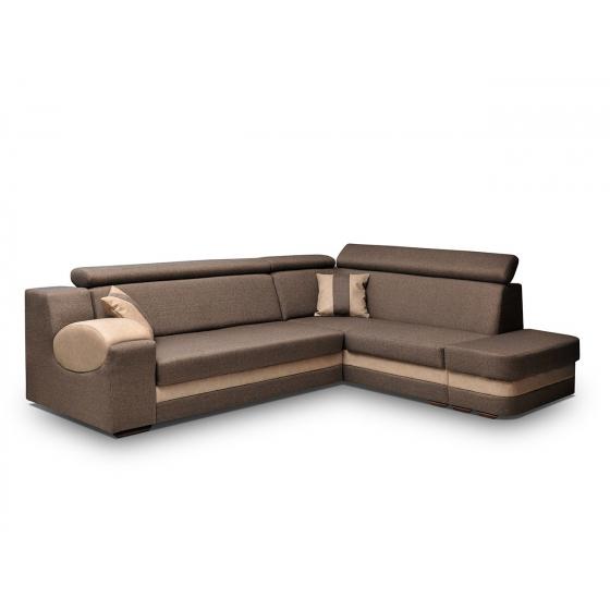 Rohová sedačka s taburetem Amore II
