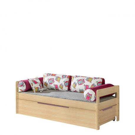 Dvojitý rozkládací postel Norys N1 + N2