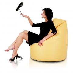 Tvarovaný sedací vak Sako