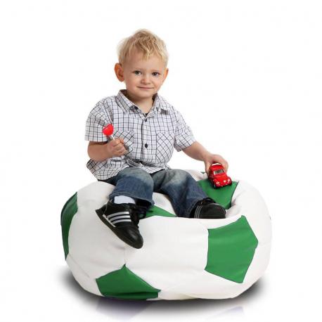 Dětský sedací vak Football S