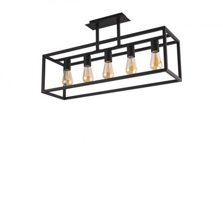 Závěsná lampa Crate Black 9047