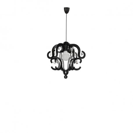 Závěsná lampa Katerina Black I 5211