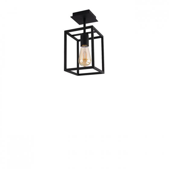 Stropní lampa Crate Black 9045