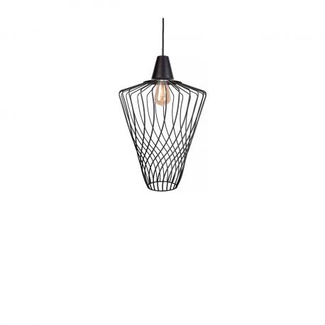 Moderní průmyslová lampa Wave Black L 8856