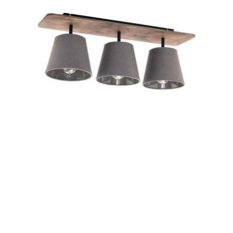 Stropní lampa Awinion Graphit III 9717