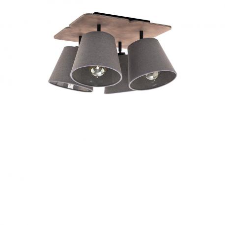 Stropní lampa Awinion IV 9716 Graphit