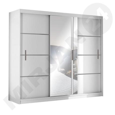 Šatní skříň s posuvnými dveřmi Vista 250