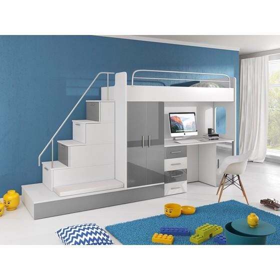 Dětská multifunkční postel Paradise 5