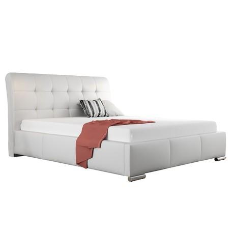 Čalouněná manželské postel Pilatus