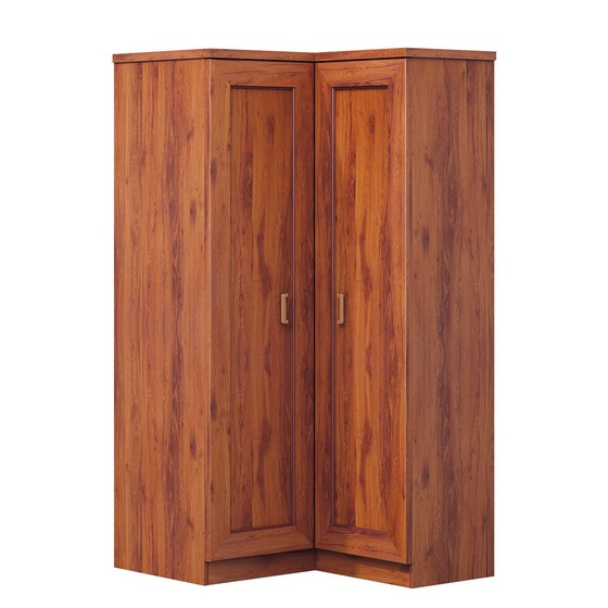 Rohová šatní skříň Noris N25-K