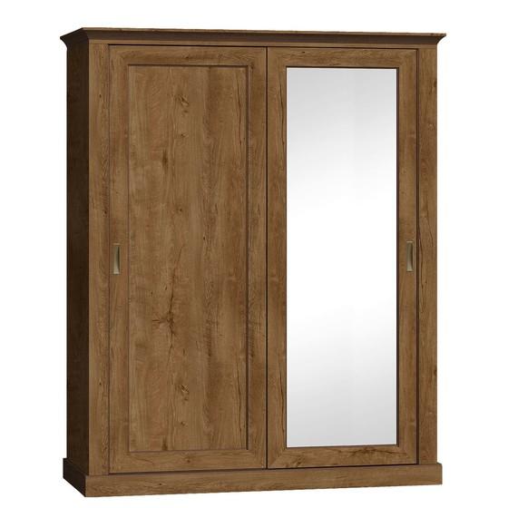 Zrcadlová šatní skříň Actina 183