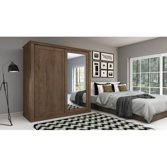 Šatní skříň s posuvnými dveřmi Actina 211