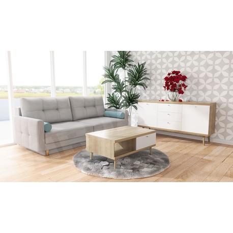 Obývací stěna Prime V + Pohovka Mosol