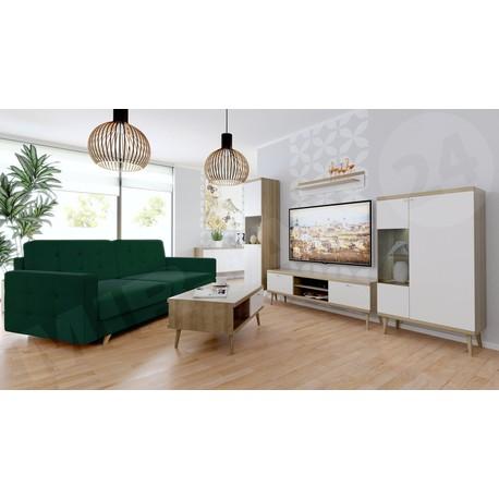 Obývací stěna Prime I + Pohovka Maline