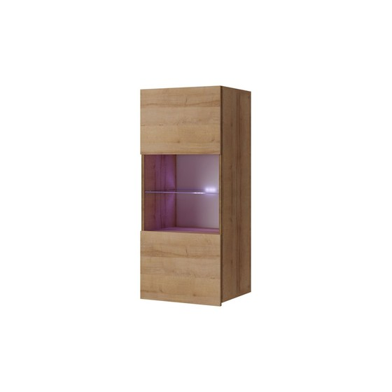 Závěsná vitrína prosklená Bralani BR05