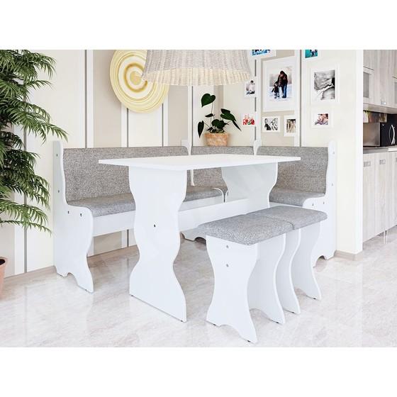 Kuchyňský sedací kout + stůl se stoličkami Samot