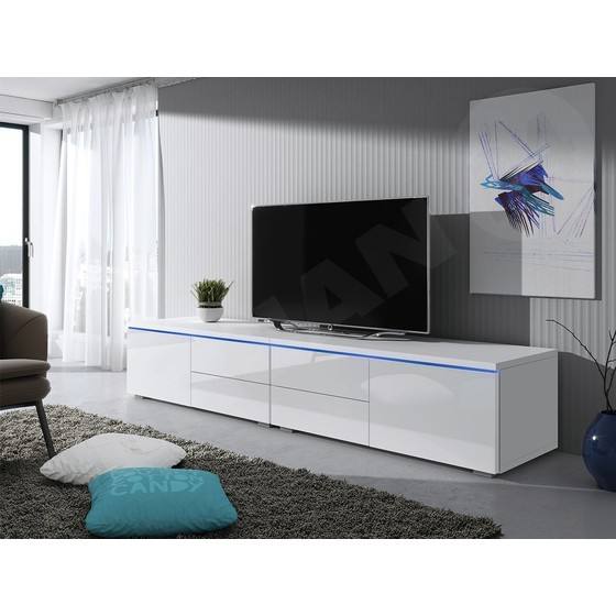 TV stolek Cleo XI Double L+P