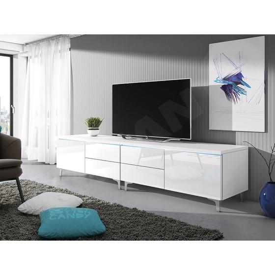 TV stolek Cleo XI-W Double L+P
